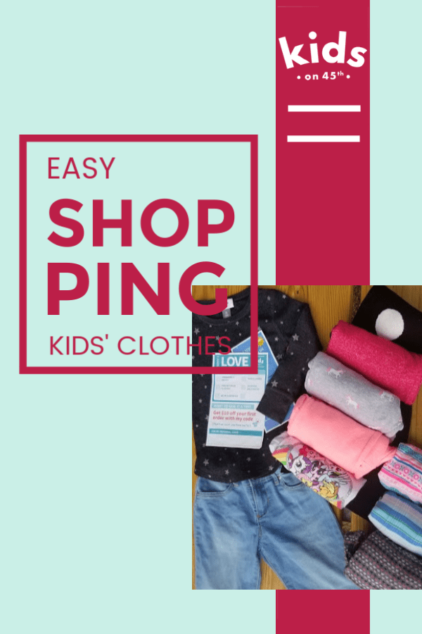 Easy Shopping for Quality Kids' Clothing... for Cheap with Kids on 45th