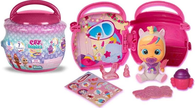 Cry Babies Magic Tears Paci House Toy