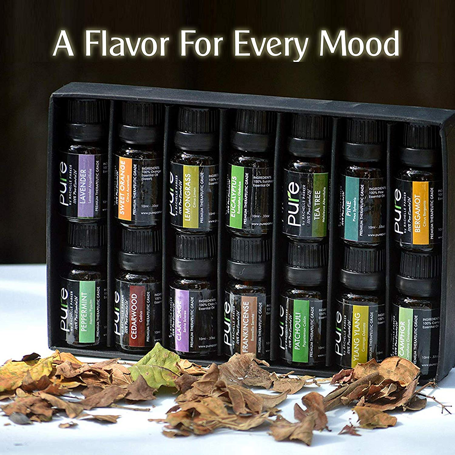 PURE Essential Oils Set Variety Pack from Pure by Rachelle Parker!