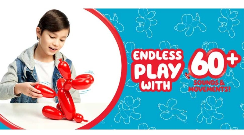 Squeakee the Balloon Robot Dog