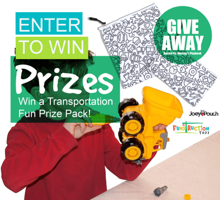 Transportation Fun Prize Pack Giveaway Button