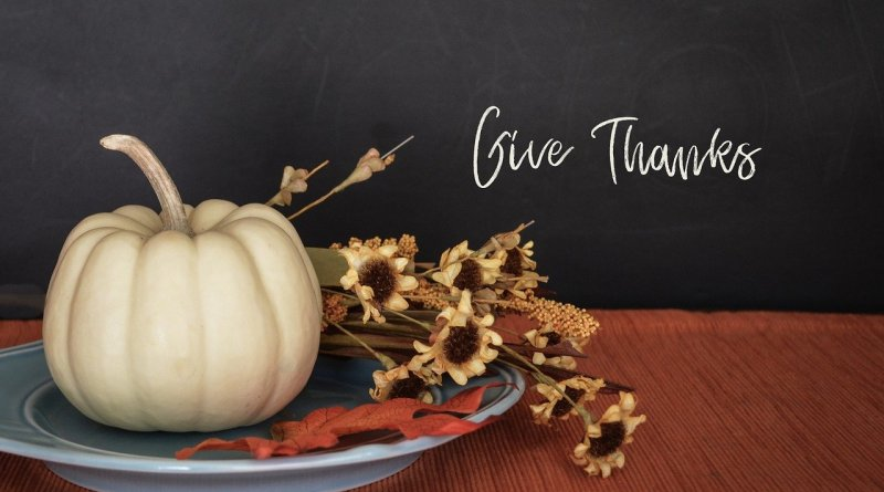 Thanksgiving Give Thanks Poster