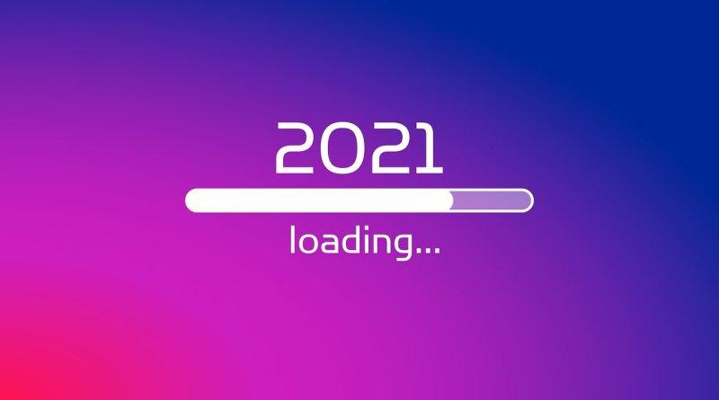 New Year 2021 Loading Bar
