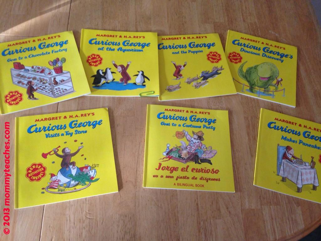 Mommyteaches Loves Curious George A Halloween Boo Fest