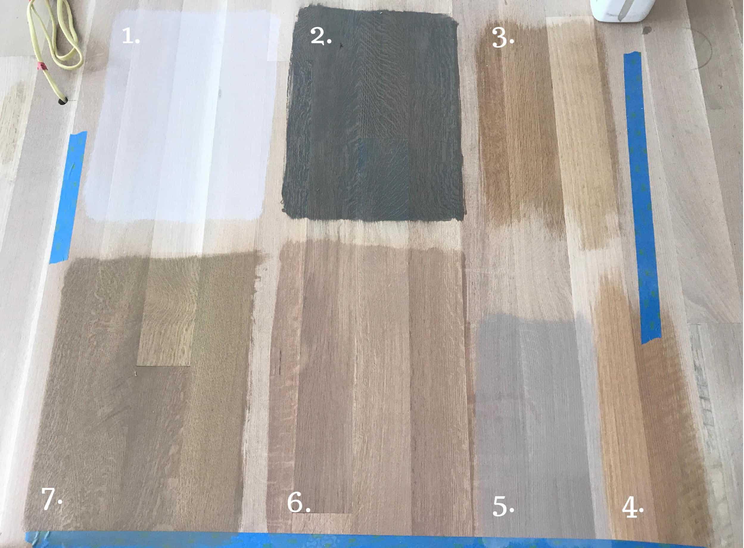 Tinted Polyurethane Floor Finish