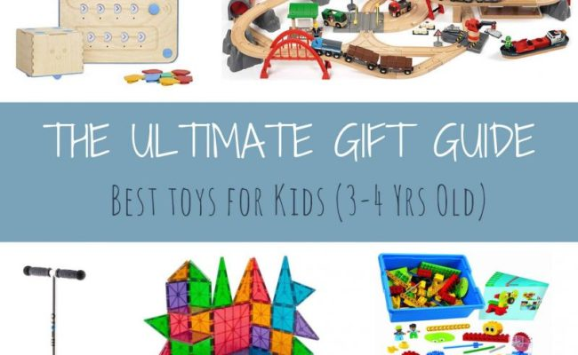 The Ultimate Gift Guide Best Toys For Kids 3 4 Years Old
