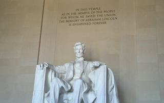 Lincoln Monument in DC