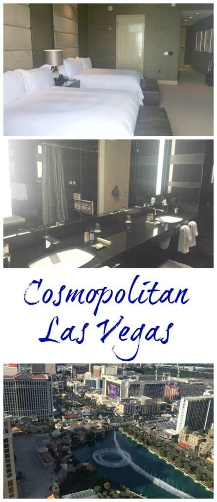 Cosmopolitan Las Vegas hotel room