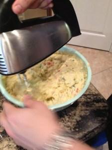 Tex-mex mashed potatoes