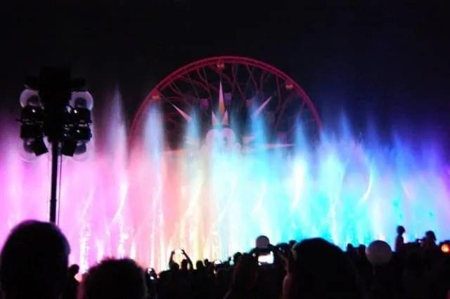 World of Color at Disneyland