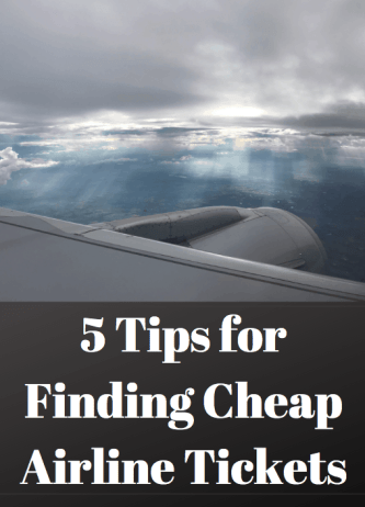 5 Tips for Finding Cheap Airline Tickets