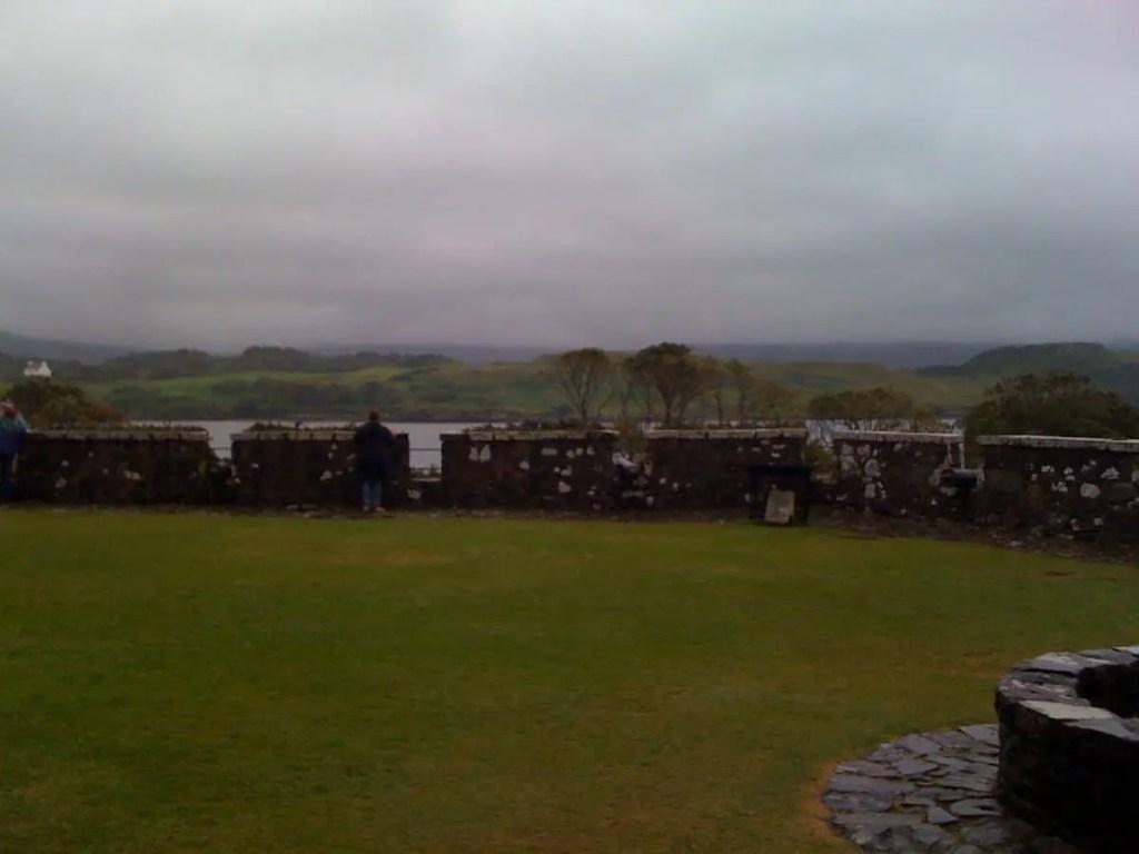 Dunvegan Castle lawn