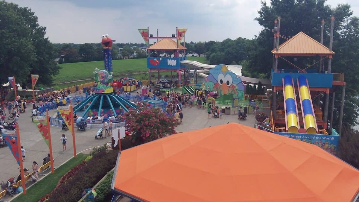 photograph about Sesame Place Printable Coupons known as Sesame Stage - Mommy Travels