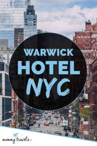 Warwick hotel in NYC