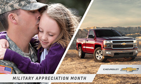 Chevy Military Appreciation Month