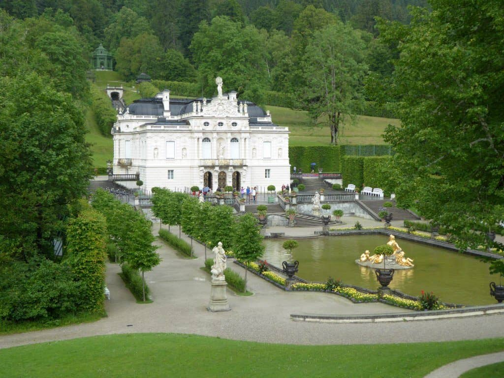 Linderhof Castle in Germany