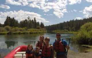 Whitewater rafting Bend, Oregon.