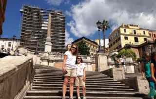 Rome with kids