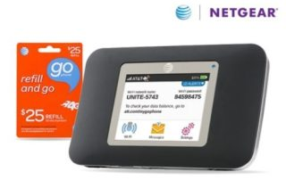 AT & T Netgear hotspot review