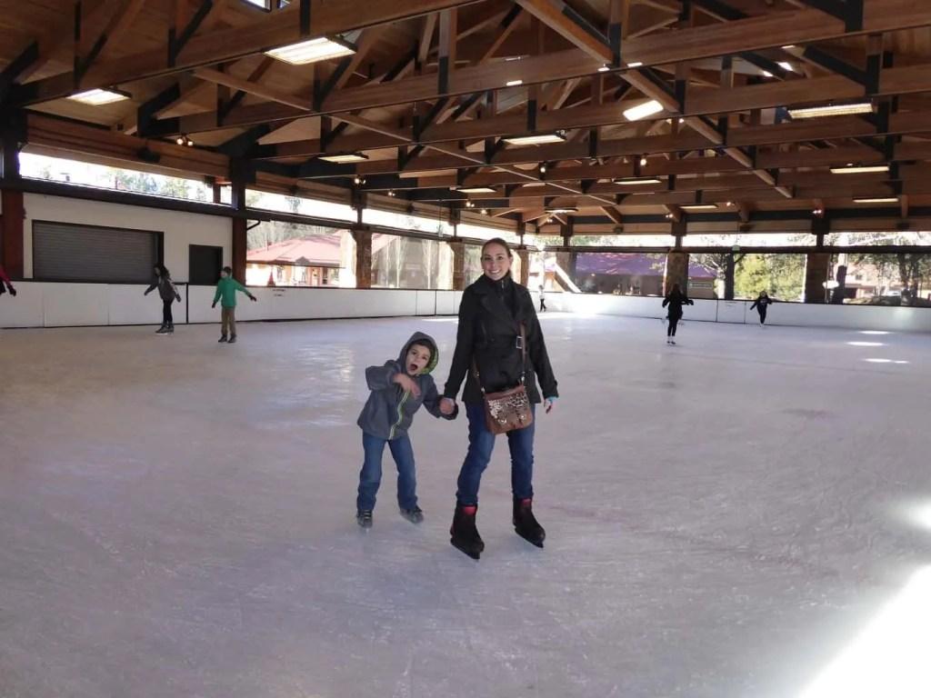 Ice Skating at Sunriver