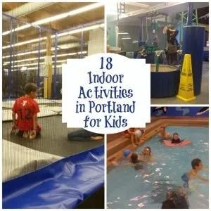indoor activities in Portland