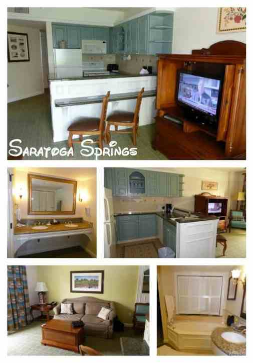 Saratoga Springs Room Pictures