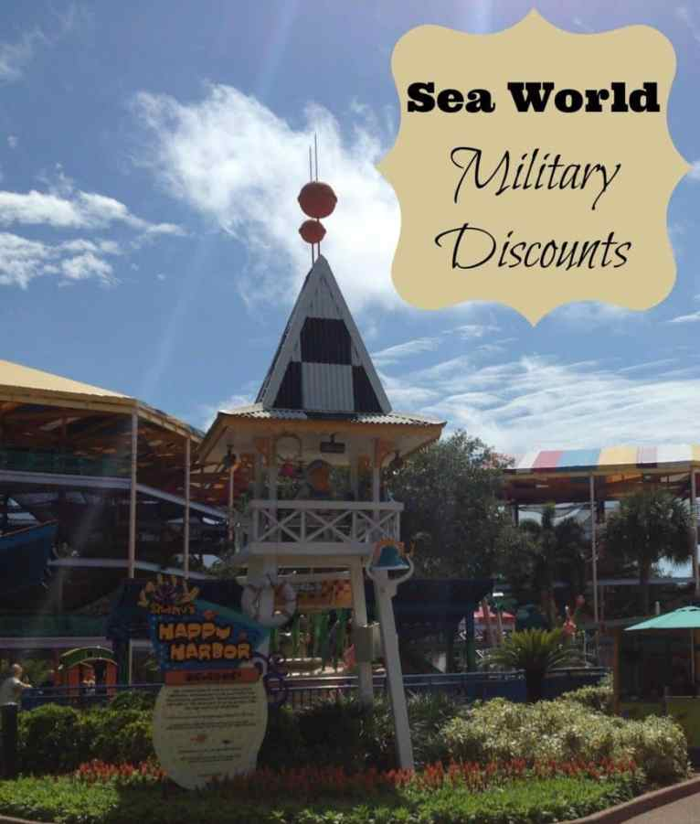 Sea World Military Discoun