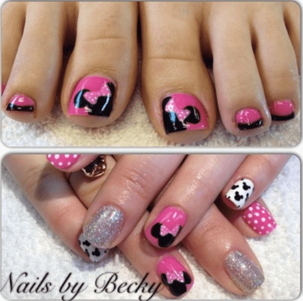 Manicure Disney Nails