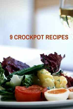 9 Crockpot Recipes