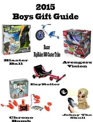 gifts for a boy