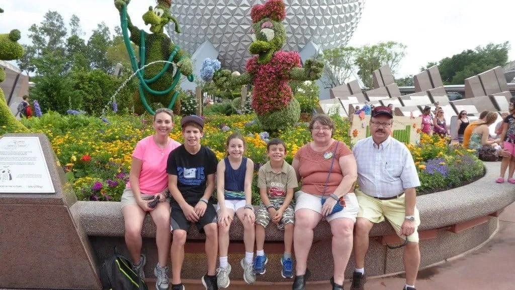 Orlando with Grandparents