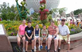 Orlando with Grandparents