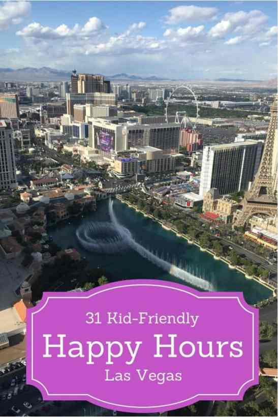 Happy Hour Las Vegas: Don't miss these 31 Kid Friendly Places for Happy Hour Las Vegas Style! Great food, drinks, and family-friendly atmospheres!