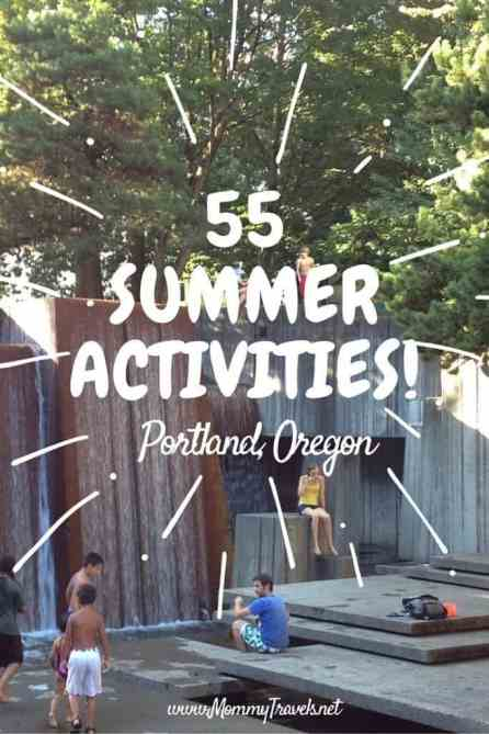 55 summer activities Portland, Oregon