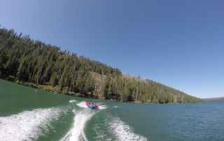 boating on Suttle Lake