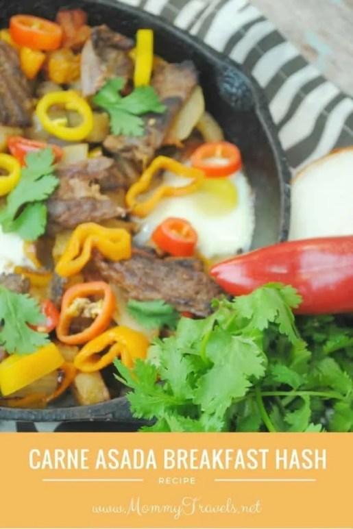 Carne Asada Breakfast Hash