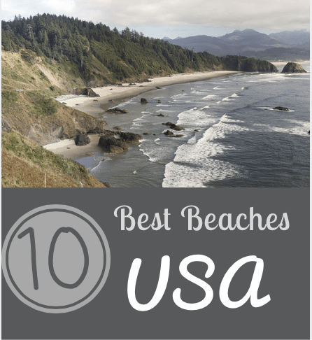 Best Beaches In The United States: Don't miss out on our Top 10 Best Beaches picks for the US! These are ideal for beautiful sand and great water!
