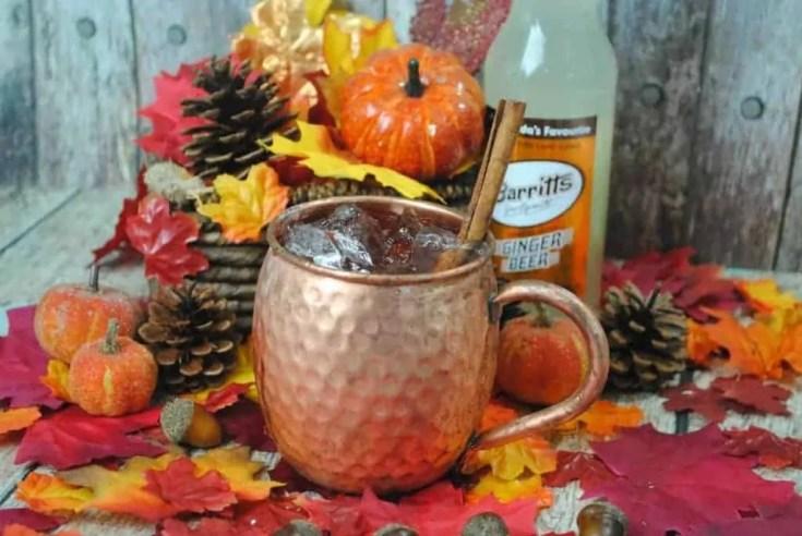 Pumpkin Moscow Mule