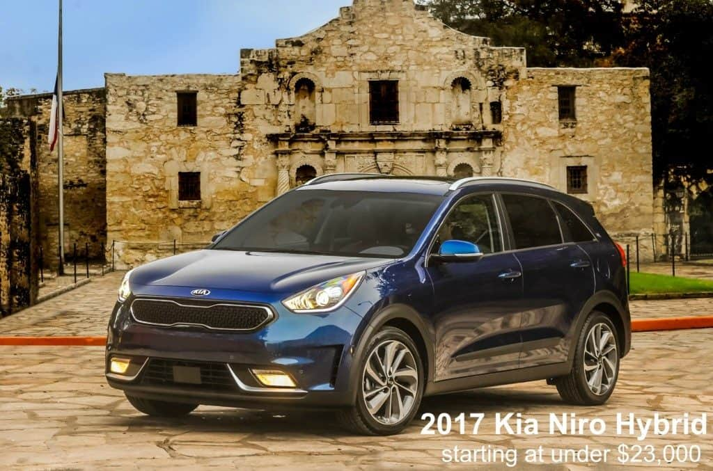 Kia Niro Hybrid is priced starting out at less than 23,000