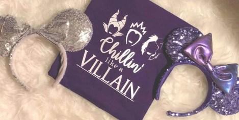 Disney villain shirt