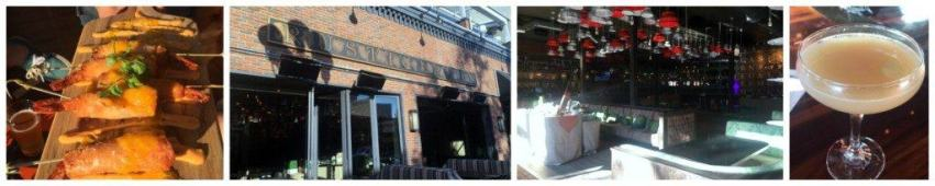 Rustin Root in the Gaslamp District of San Diego and a great place to eat or just hang out at the bar.