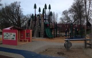 Skinner Butte Park playground in Eugene Oregon