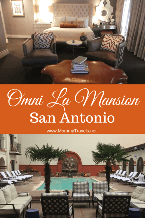 The Omni La Mansion Del Rio is an awesome place to stay right on the Riverwalk.