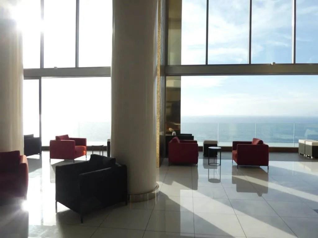Hotel Mousai lobby