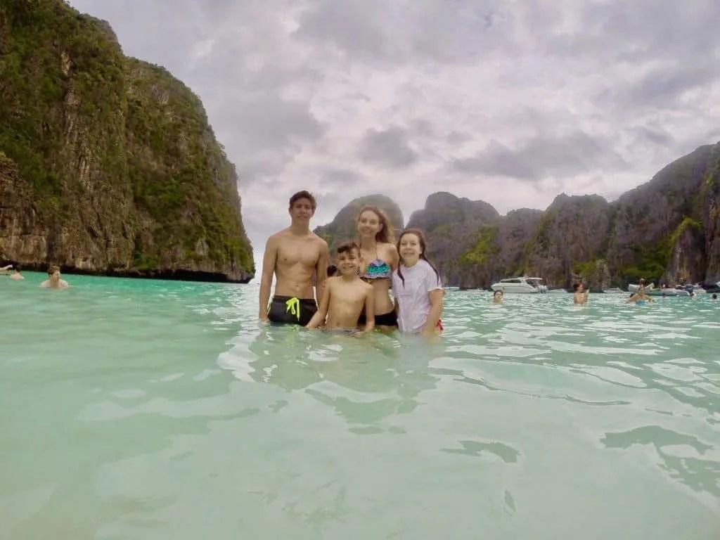 The Beach at Phi Phi Island