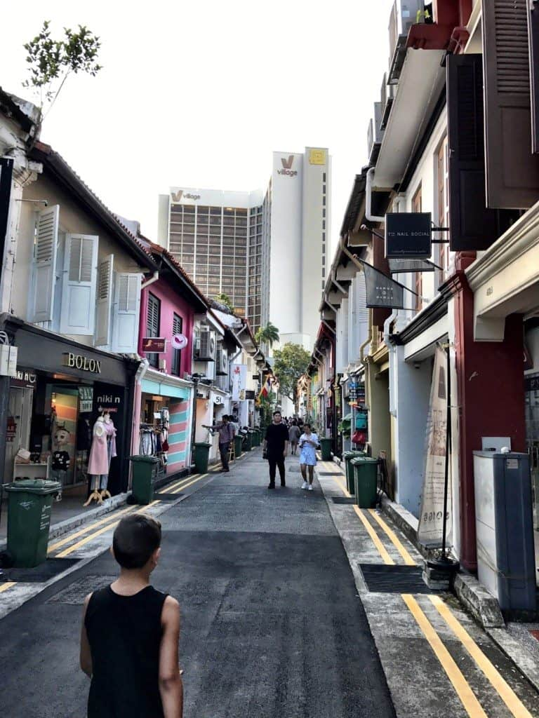 Arab quarter in Singapore