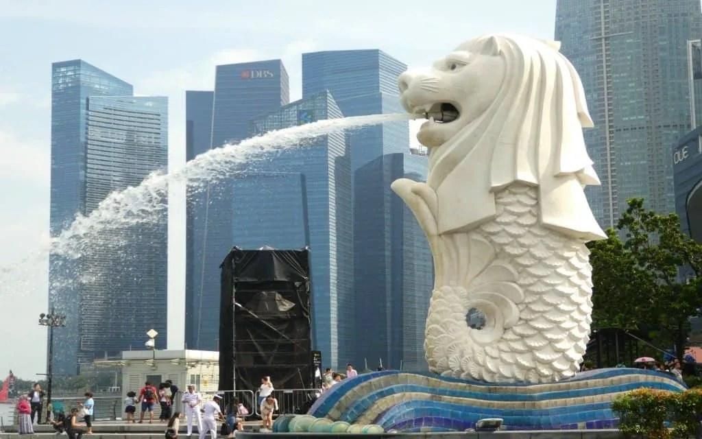 Merlion in Singapore