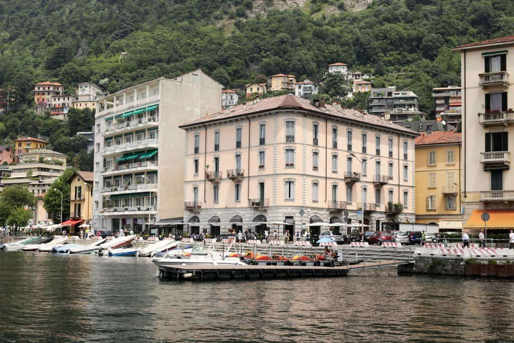 The View From The Boat, Lake Como, Italy