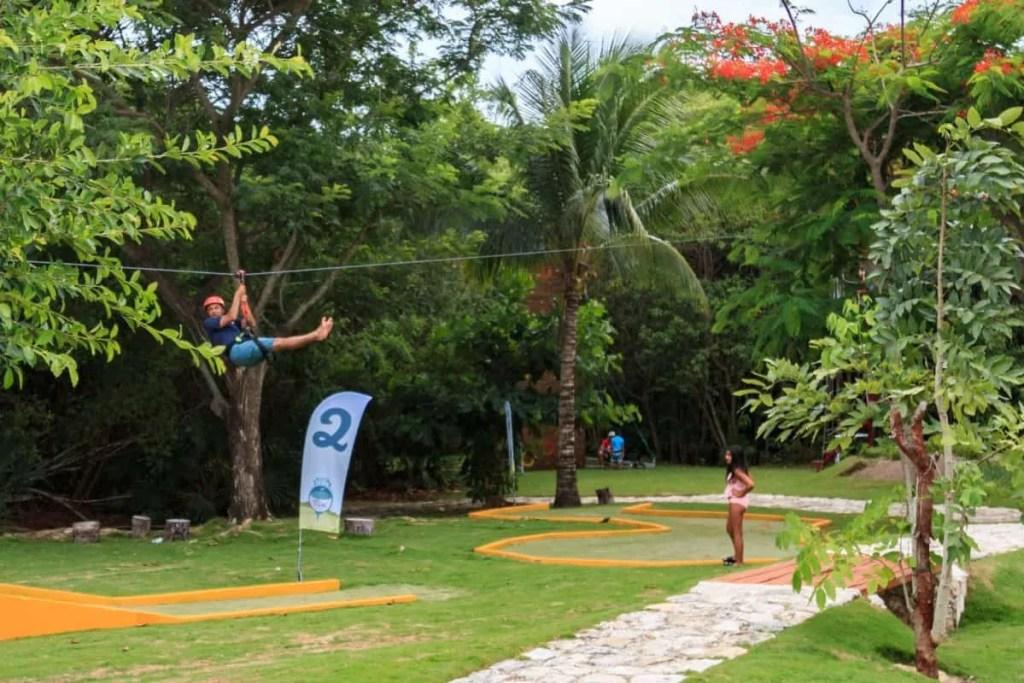 Zipline at Grand Velas Riviera Maya