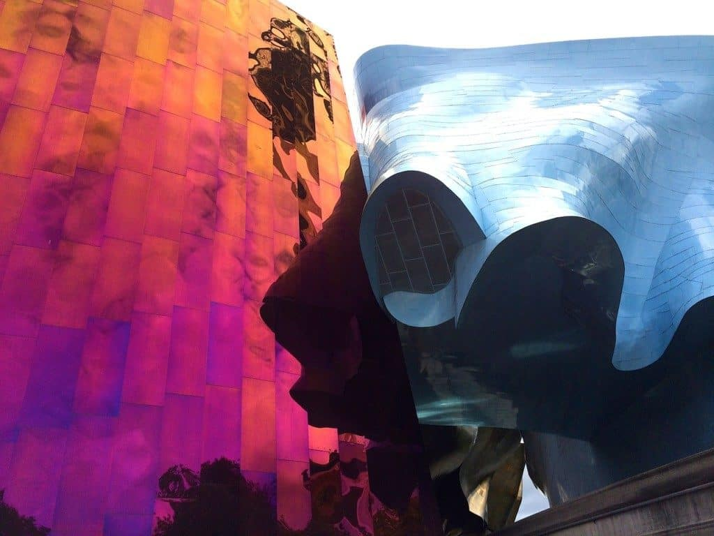 Museum of Pop Culture formally the Experience Music Project